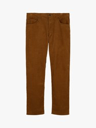 Jaeger Five Pocket Corduroy Trousers Brown