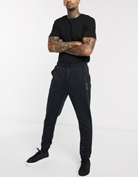 Boss Athleisure Hicon Slim Joggers With Side Logo Black