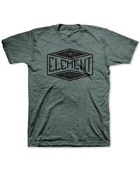 Element Men's Graphic Print T Shirt Balsam