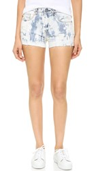 Blank High Rise Wedge Shorts Last Call