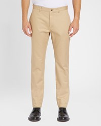 A.P.C. Beige Classic Waterproof Cotton Chinos