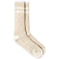 Norse Projects Bjarki Slub Socks White