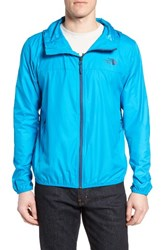 The North Face Men's Cyclone 2 Windwall Raincoat Hyper Blue Shady Blue