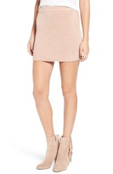 Lucca Couture Women's Knit Miniskirt
