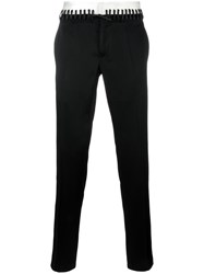 Haider Ackermann Laced Waistband Trousers Black