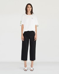 Aalto Cropped Trousers Black