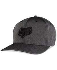 Fox Men's Barraged Flex Fit Hat Blk