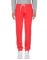Cooperativa Pescatori Posillipo Casual Pants Red