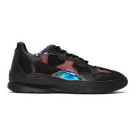 Filling Pieces Black And Purple Low Fade Cosmo Infinity Sneakers