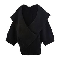 Stella Mccartney Wool Cardigan 1000 Black