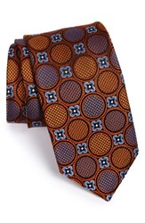 Men's J.Z. Richards Medallion Woven Silk Tie