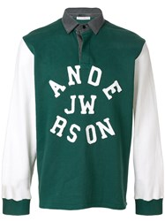 J.W.Anderson Jw Anderson Rugby Polo Shirt Green