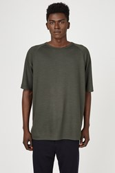 Nick Wooster X The White Briefs Loose Raglan T Shirt Olive