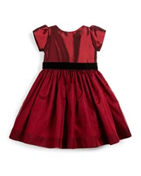 Susanne Lively Taffeta And Silk Party Dress Garnet Red