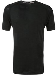Y3 Sport Short Sleeve T Shirt Black