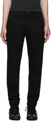 Levi's Black Chino Jogger Trousers