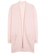 By Malene Birger Dissania Mohair Blend Open Cardigan Pink