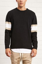 Forever 21 Striped Crew Neck Sweater