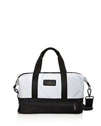 Adidas By Stella Mccartney Small Gym Bag White Black Gunmetal