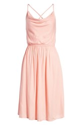 Volcom Mystic Mama Dress Coral Haze