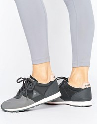 Le Coq Sportif Sigma With Cordura Trainer Charcoal Grey