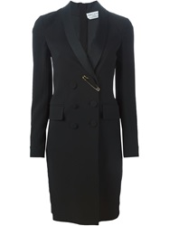Sonia Rykiel Safety Pin Detail Blazer Dress Black