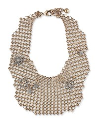 Lulu Frost Encore Radiant Mesh Necklace Gold