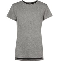 Athletic Propulsion Labs The Perfect Melange Mesh T Shirt Gray