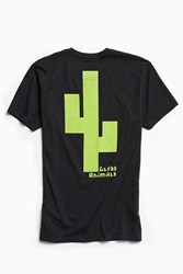 Urban Outfitters Glass Animals Cactus Tee Black