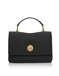 Coccinelle Handbags Grainy Leather Medium Liya Satchel Bag