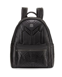 Mcm Bionic Coated Neoprene Backpack Black