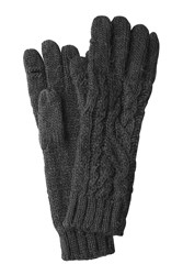 Polo Ralph Lauren Gloves With Wool And Alpaca Black