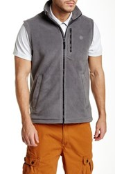 Timberland Bellamy Fleece Vest Gray