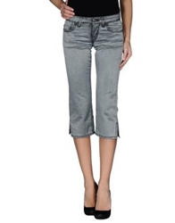 Parasuco Cult Denim Capris Grey