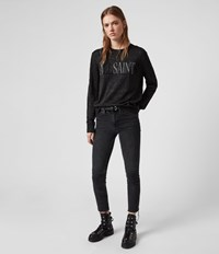 Allsaints A Saints Sweater Black