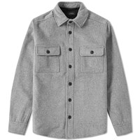 Saturdays Surf Nyc Jeremiah Cpo Shirt Grey