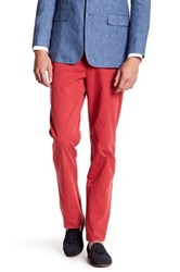 Brooks Brothers Clark Red Dress Pant