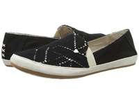 Reef Shaded Summer Tx Black White Women's Flat Shoes