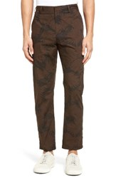 Vince Men's Leaf Print Chinos