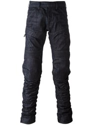 G Star Raw Research Distressed Jeans Blue