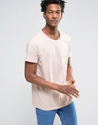 Weekday Alex T Shirt Dusty Pink 37119 Beige