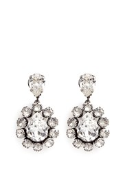 Venessa Arizaga 'Natural Mystic' Swarovski Crystal Earrings White