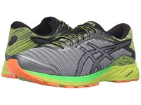 Asics Dynaflyte Mid Grey Black Safety Yellow Men's Running Shoes Gray