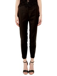 Ted Baker Tiornat Ottoman Detail Suit Trousers Black