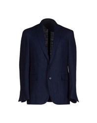Ralph Lauren Black Label Suits And Jackets Blazers Men Dark Blue