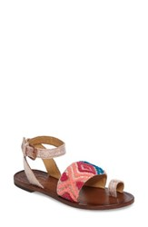 Free People Women's Torrence Ankle Wrap Sandal Pink