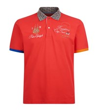 La Martina Barcelona City Tour Polo Shirt Male Red