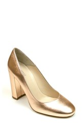 Summit Women's Aggie Pump Rose Gold Leather