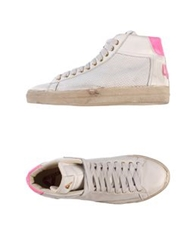 Cycle High Tops And Trainers White