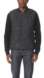 Scotch And Soda Quilted Vest Graphite